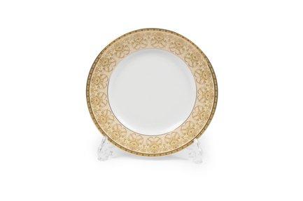 Тарелка десертная Tiffany Or, 22 см 5300122 1785 Tunisie Porcelaine тарелка десертная tiffany or 22 см 5300122 1785 tunisie porcelaine