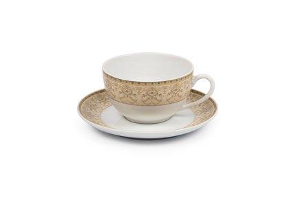 Фото - Чайная пара Tiffany Or (220 мл) 6103520 1785 Tunisie Porcelaine кофейная пара tiffany or 110 мл 6103510 1785 tunisie porcelaine