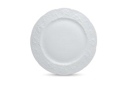 Фото - Блюдо Vendange Mat Blanc, 32 см 3100632 Tunisie Porcelaine блюдо презентационное blue sky 32 см 580632 0897 tunisie porcelaine