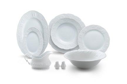 Сервиз столовый Vendange Mat Blanc, 25 пр 3109125 Tunisie Porcelaine