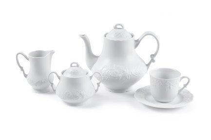 Сервиз чайный Vendange Mat Blanc, 15 пр 3109515 Tunisie Porcelaine