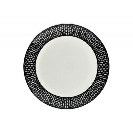 Тарелка плоская Верона, 25 см 00000080739 Royal Aurel royal aurel тарелка плоская шарм 23 5 см 552r royal aurel