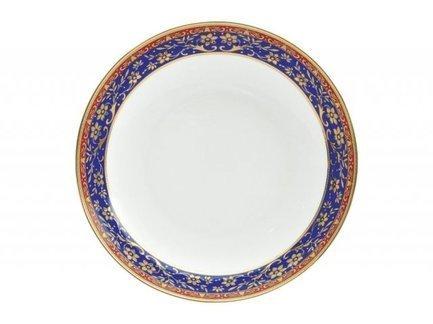 Тарелка плоская Кобальт, 25 см 00000080692 Royal Aurel royal aurel тарелка плоская шарм 23 5 см 552r royal aurel