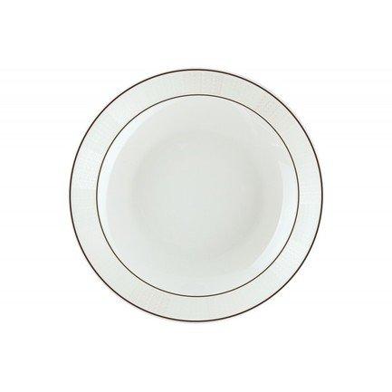 Тарелка глубокая Кружево, 20 см 00000069474 Royal Aurel