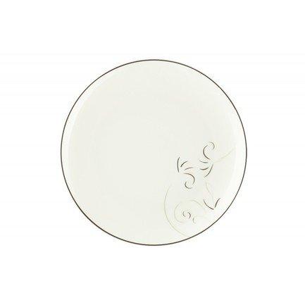 Тарелка плоская Лоза, 25 см 00000069435 Royal Aurel royal aurel тарелка плоская шарм 23 5 см 552r royal aurel