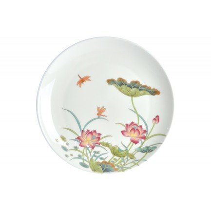 Тарелка плоская Лотос, 25 см 00000080753 Royal Aurel royal aurel тарелка плоская шарм 23 5 см 552r royal aurel