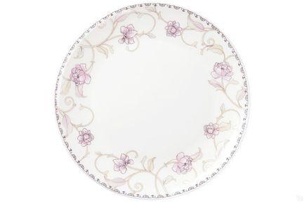 Тарелка плоская Нежность, 25 см 00000077681 Royal Aurel royal aurel тарелка плоская шарм 23 5 см 552r royal aurel