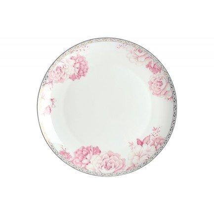 Тарелка плоская Пион, 25 см