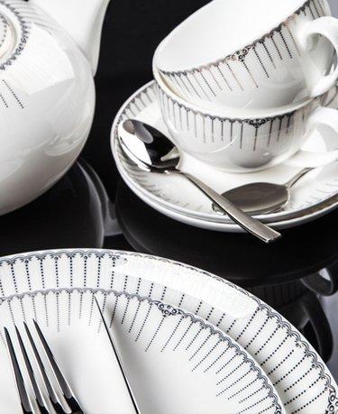 Столовый сервиз Версаль на 6 персон, 27 пр. 00000072150 Royal Aurel royal bone china сервиз чайный файналей на 6 персон 17 пр 8998 17010 royal bone china