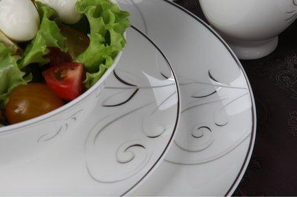 Столовый сервиз Лоза на 6 персон, 27 пр. 00000073788 Royal Aurel royal bone china сервиз чайный файналей на 6 персон 17 пр 8998 17010 royal bone china