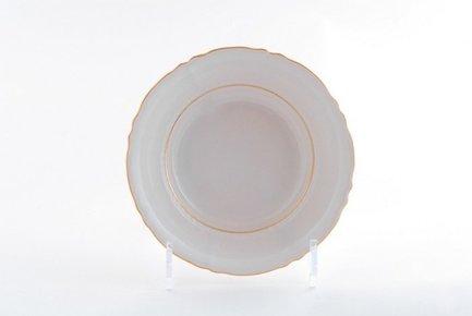 Набор тарелок глубоких Соната Тонкое золото, 23 см, 6 шт.