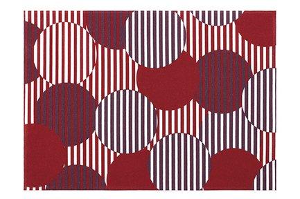 Сервировочные маты Red Polka Dots, 45х32 см, 2 шт. DD45/TOR-12 Day Drap салфетка столовая day drap red tartan л8879 красный серый белый 2 шт
