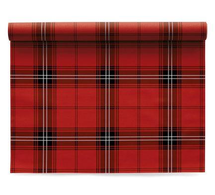 Салфетки Cotton Tartan Christmas, 11х11 см, 50 шт. в рулоне SA11N4/701-2 My Drap салфетка столовая day drap red tartan л8879 красный серый белый 2 шт