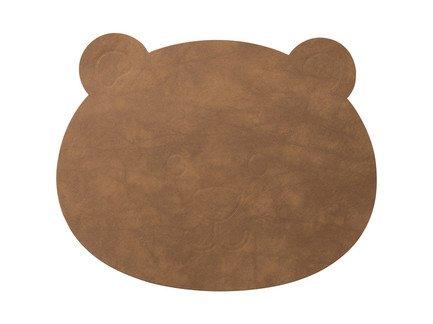 Подстановочная салфетка медвежонок, 38x30 см, коричневая 983128 Lind Dna