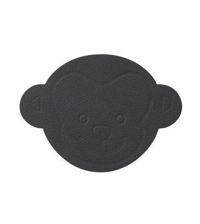 Подстановочная салфетка обезьянка, 38x28 см, антрацит 983147 Lind Dna