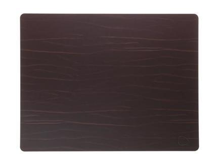 Подстановочная салфетка прямоугольная, 35x45 см, коричневая 98894 Lind Dna