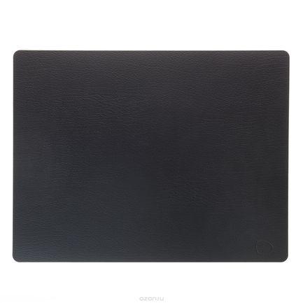 Подстановочная салфетка прямоугольная, 35x45 см, черная 98402 Lind Dna