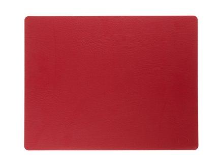 Подстановочная салфетка прямоугольная, 35x45 см, красная 98407 Lind Dna
