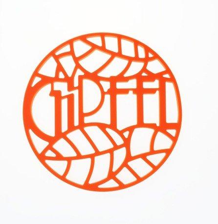 Подставка под горячее Glum, 17х17х0.8 см, оранжевая 0212 Gipfel подставка под горячее glum gipfel 0212