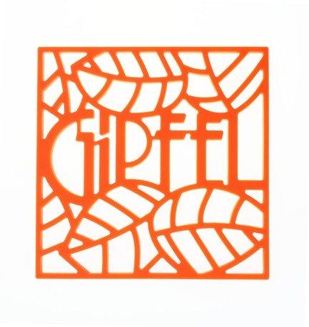 Подставка под горячее Glum, 17х17х0.8 см, оранжевая 0216 Gipfel подставка под горячее glum gipfel 0212