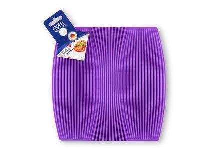 Подставка под горячее, 20.3х20х0.7 см, фиолетовая 0335 Gipfel подставка под горячее gipfel 0335 20 3х20х0 7см