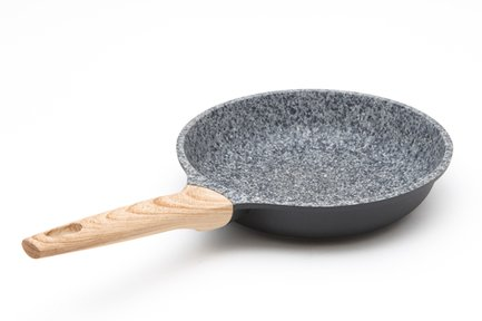 Сковорода Oliver литая с антипригарным покрытием, 24х5.5 см 0566 Gipfel сковорода mallony 2540 с антипригарным покрытием диаметр 24 см