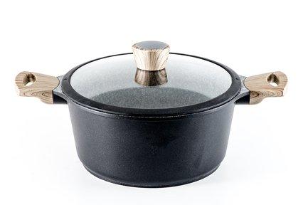 Кастрюля Oliver литая с антипригарным покрытием, 20х9.5 см 0571 Gipfel сковорода oliver литая с антипригарным покрытием 28х6 см 0568 gipfel