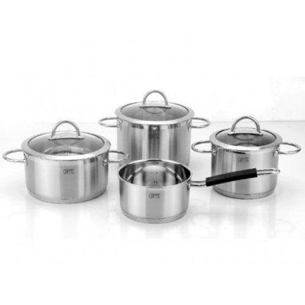 Набор посуды Signo с капсульным дном, 7 пр. 1503 Gipfel набор посуды signo с капсульным дном 7 пр 1503 gipfel