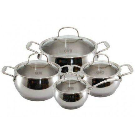 Набор посуды Forum с капсульным дном, 8 пр. 1548 Gipfel набор посуды signo с капсульным дном 7 пр 1503 gipfel