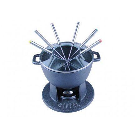 Набор для приготовления фондю Clymene, 10пр., черный 1930 Gipfel набор для фондю gipfel 11 предметов
