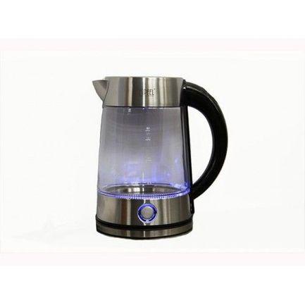Чайник электрический для кипячения воды со светодиодной подсветкой (1.7 л) 2008 Gipfel конструктор 3d green planet 130 голова благородного оленя кв белый 350 220 270 мм