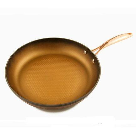 Сковорода Versal Gold c двуслойным антипригарным покрытием, 26х5 см 2717 Gipfel сковорода gipfel versal gold 24 см