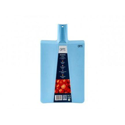 Доска разделочная складная Mugavus, 480х270х65 мм, голубая