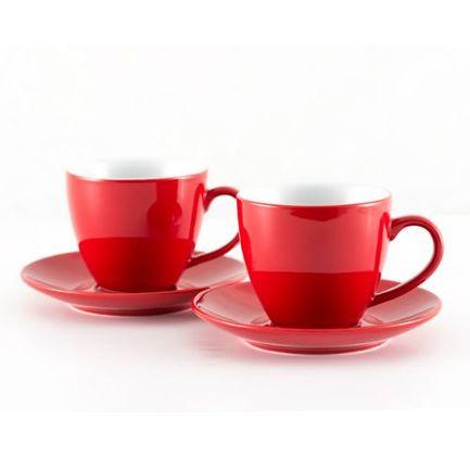 Набор чайный на 2 персоны, красный 3870 Gipfel