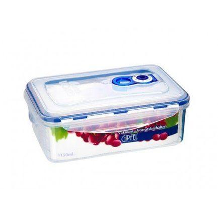 Вакуумный контейнер для хранения продуктов (1.15 л), 207x135x79 мм