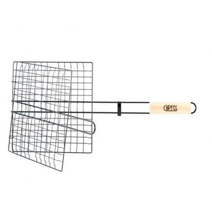 Решетка-гриль двойная металлическая с антипригарным покрытием Teflon, 55х27х24 см