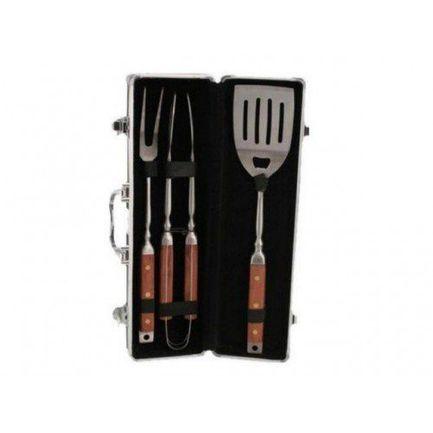 Набор аксессуаров для барбекю Ignis в алюминиевом чемодане, 4 пр. 6187 Gipfel набор для барбекю gipfel ignis 11 предметов