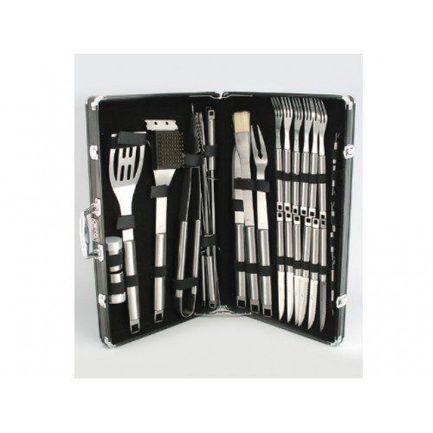 Набор аксессуаров для барбекю Ignis в черном алюминиевом чемодане, 31 пр. 6195 Gipfel