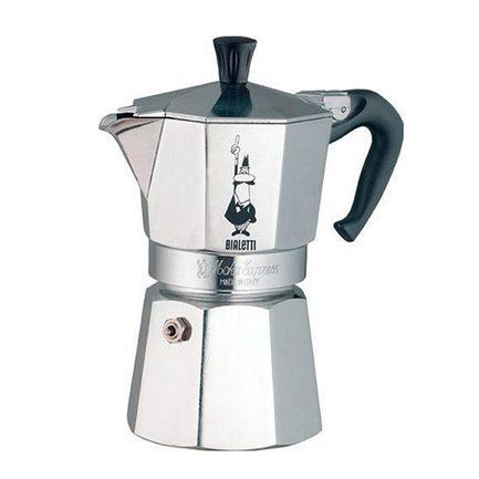 Гейзерная кофеварка Moka Express 1164 (0.24 л), на 4 чашки (1164) 00001164 Bialetti