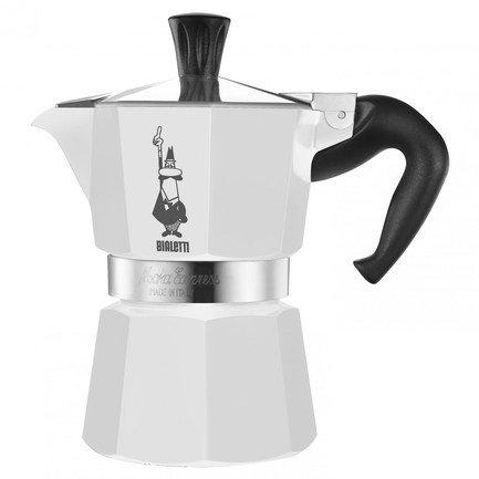 Гейзерная кофеварка Moka Express (0.36 л), на 6 чашек (1163) 00001163 Bialetti кофеварка гейзерная bialetti moka express rossa на 6 чашек