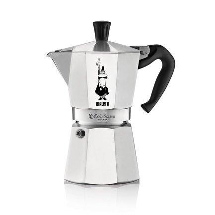 Гейзерная кофеварка Moka Express (0.55 л), на 9 чашек 0001165/X4 Bialetti кофеварка гейзерная rainbow 0 24 л на 6 чашек фуксия 5013 bialetti