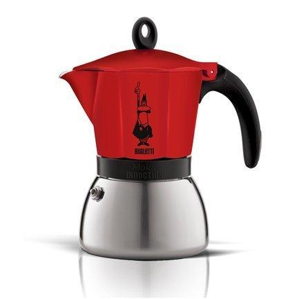 Гейзерная кофеварка Moka Induction (0.36 л), на 6 чашек (4923) 00004923 Bialetti