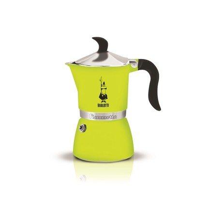 Гейзерная кофеварка Fiametta Lime (0.18 л), на 3 чашки (4792) 0004792 Bialetti