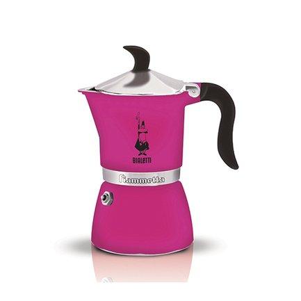 Гейзерная кофеварка Fiametta Fuchsia (0.18 л), на 3 чашки (5352) 0005352 Bialetti стоимость