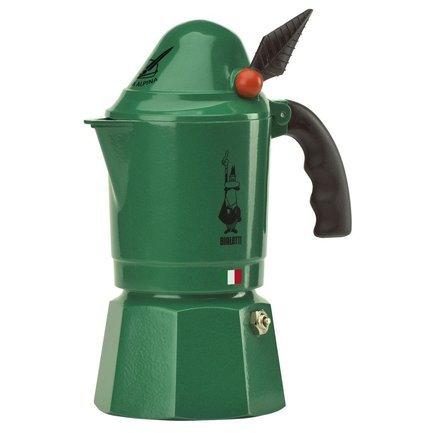 Гейзерная кофеварка Break Alpina (0.12 л), на 3 чашки 0002762/MR Bialetti