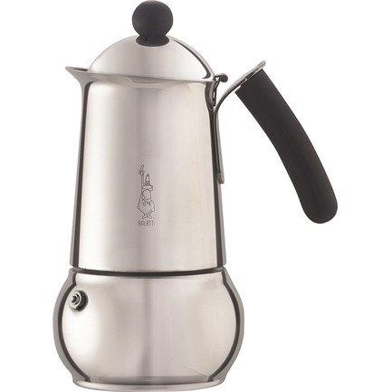 Гейзерная кофеварка Class (0.36 л), на 6 чашек (4643) 0004643 Bialetti кофеварка гейзерная rainbow 0 24 л на 6 чашек фуксия 5013 bialetti