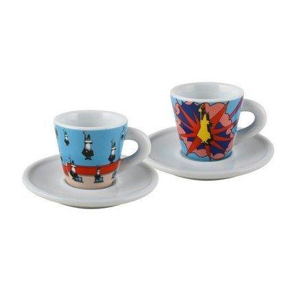 Набор кофейных пар Espresso Arte (80 мл), 4 пр. Y0TZ030 Bialetti набор кофейных 6 пар carlsbad