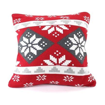 Подушка с орнаментом Christmas story, 45х45 см en_ny0057 EnjoyMe