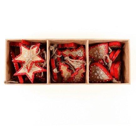 Украшения подвесные Stars/Trees/Hearts, 30 шт. en_ny0008 EnjoyMe
