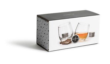 Бокалы для виски с кубиками для охлаждения, 4 пр. 5003399 Sagaform
